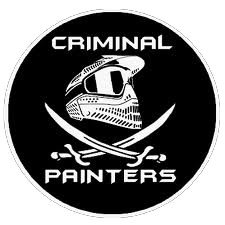 equipe paintball criminal painters fort paint